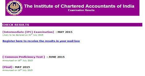 CA ipcc result may 2015 -1 2
