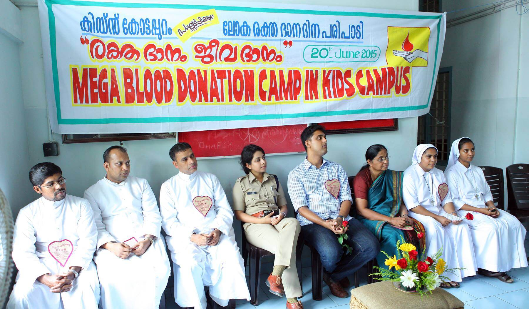 Inauguration-of-the-MEGA-BLOOD-DONATION-CAMP-IN-KIDS-CAMPUS-Merin-joseph