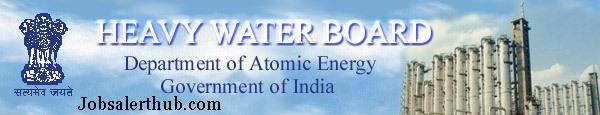 Heavy Water Board Scientific Officer Recruitment 2015