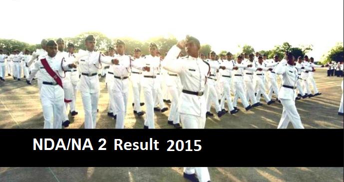 UPSC NDA NA 2 Result 2015 Available Check NDA NA II Cut Off Merit List