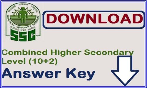 SSC CHSL Answer Key 2016
