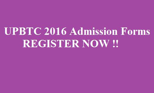 UPBTC 2019 Admission Online Form Register Now @ upbasiceduboard.gov.in