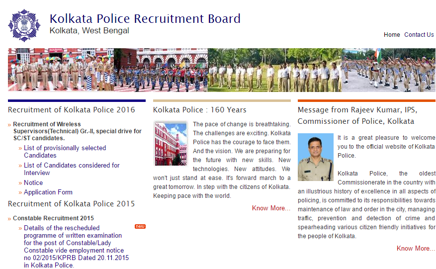 Kolkata Police Answer Key 2017 KPRB Constable Cutoff Marks @ kprb.kolkatapolice.gov.in