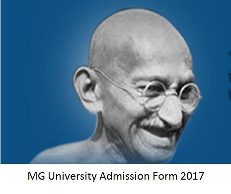 MG University Admission Form 217