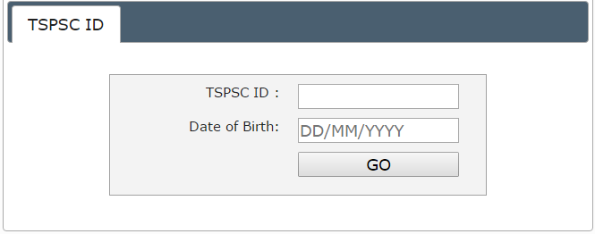 TSPSC AAE Admit Card