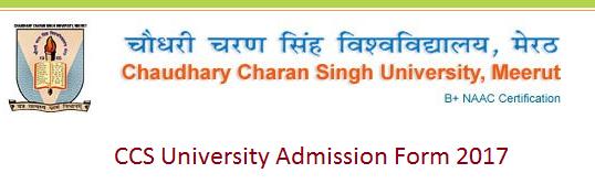 CCS University Admission Form