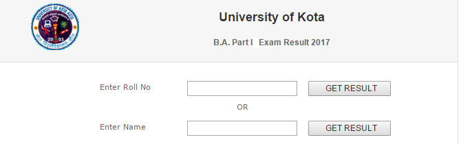 UOK BA 1st Year Result