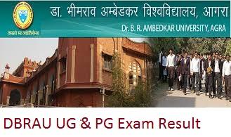 DBRAU UG & PG Exam Result 2017