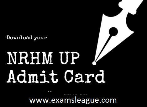 UP NRHM Lab Technician Admit Card 2017