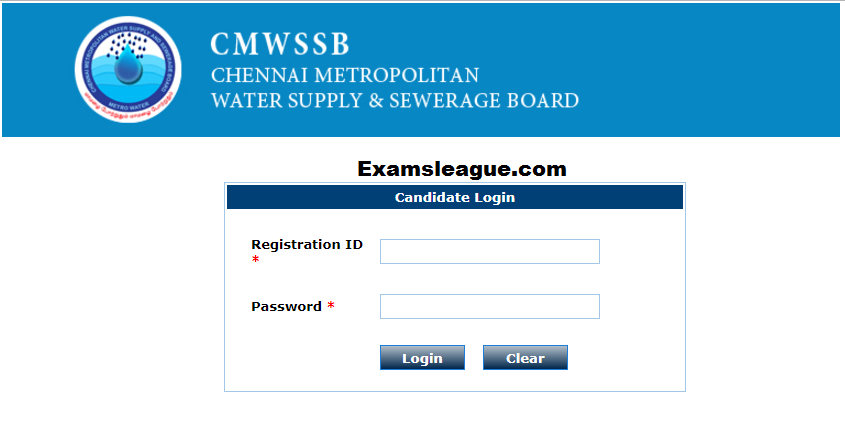 CMWSSB Admit Card 2017 Download