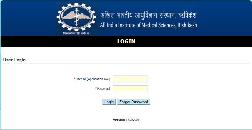 AIIMS Rishikesh Staff Nurse Admit Card 2017