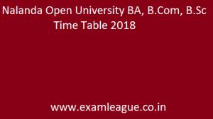 Nalanda Open University BA, B.Com, B.Sc