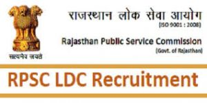 Rajasthan LDC Recruitment Notification
