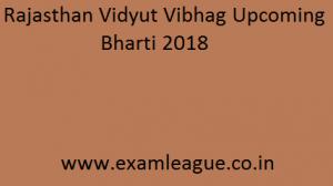 Rajasthan Vidyut Vibhag Bharti