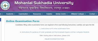 MLSU BA Final Online Exam Form