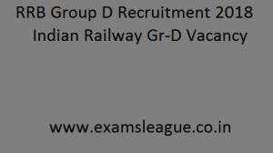 RRB Group D Recruitment 2018 Indian Railway RRC 62,902 Gr-D Vacancy Apply Online