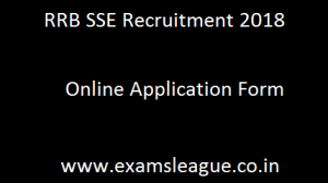 RRB SSE Recruitment 2018