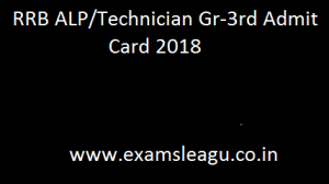 RRB Technician Gr 3rd Call letter