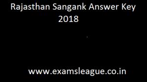 RSMSSB Sanganak Answer Key 2018 Raj Computer Answer Sheet & Cut off Marks