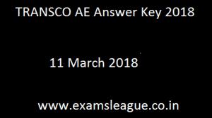 TRANSCO AE Answer Key