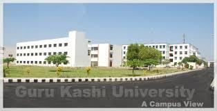 GKU Guru Kashi University Date Sheet