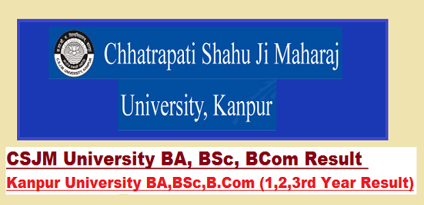 CSJM Bsc 1st Year Result