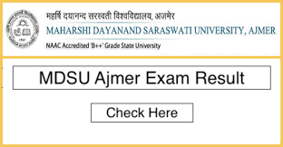 MDSU Exams Result 2019
