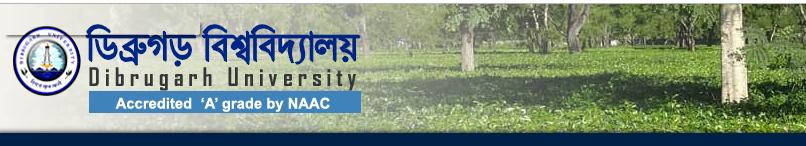 Dibrugarh University Exam Routine 2019