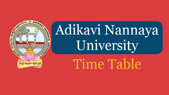 AKNU Degree 1st 2nd 3rd Final Year Time Table 2019