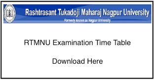 Nagpur University Admit Card 2019
