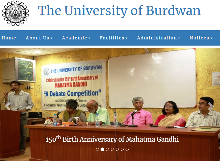 Burdwan University BA Part 3 Result 2019