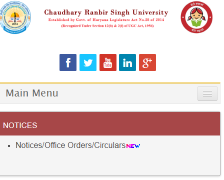CRSU BA 2nd Year Result 2019