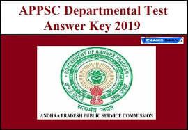 APPSC DAO 07 July Key 2019