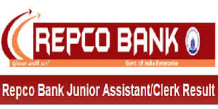 REPCO Bank Junior Assistant Result 2019