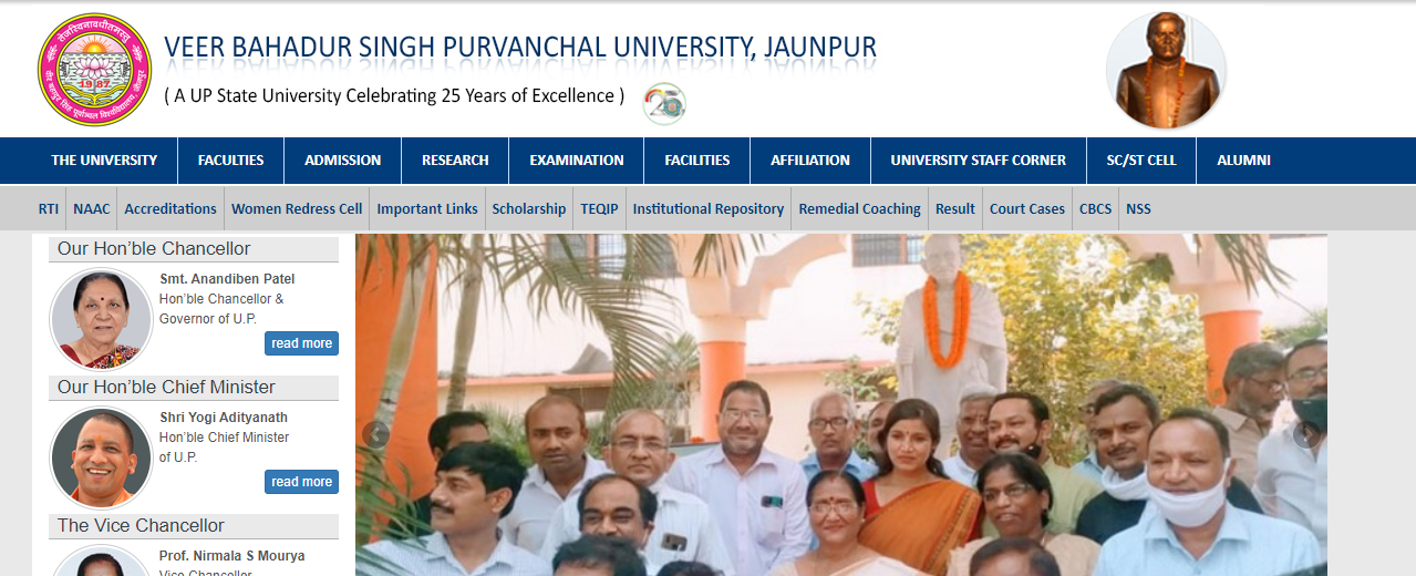 VBSPU BSc Time Table 2021 Purvanchal University BSc Part 1st 2nd 3rd Exam Date Sheet Regular & Private